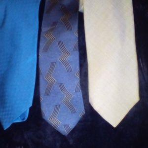Lot of 3 Armani ties